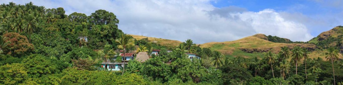 Pristine islands of Fiji - Savusavu