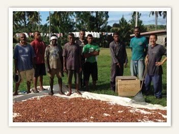 Fijiana Cacao farmers