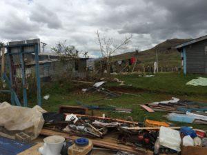 Cyclone Winston's damage- -farmers village